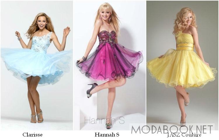 Коктейльные выпускные платья 2014