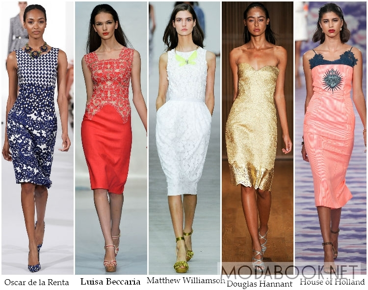 Облегающие коктейльне платья 2014