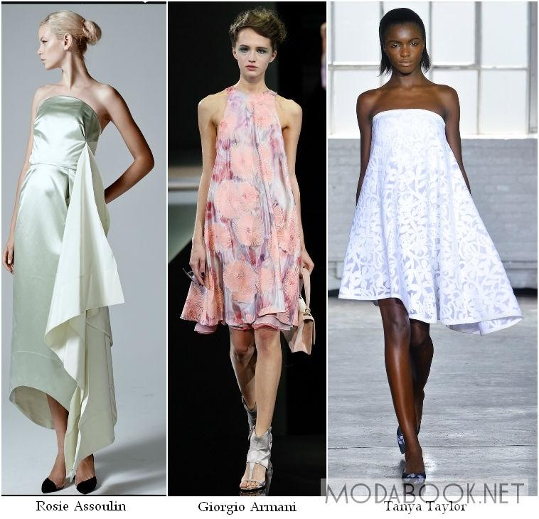 Коктейльные платья 2014 свободного кроя