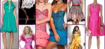 Коктейльные платья на выпускной 2014