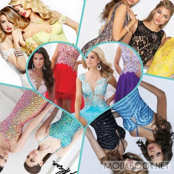 Длинные платья на выпускной 2014