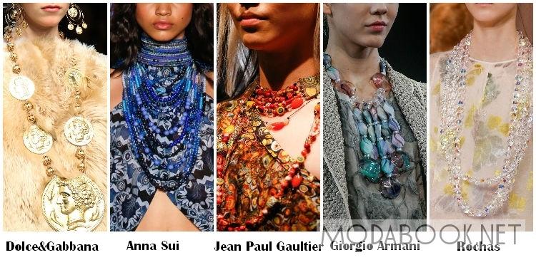 Модные бусы 2014 - под цвет наряда