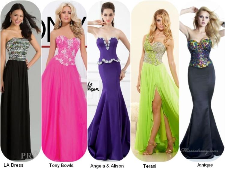 Платья длинные с корсетом