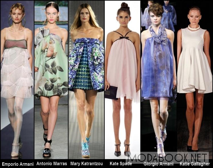 Свободные летние платья 2014