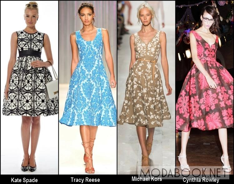 Простые прямые летние платья