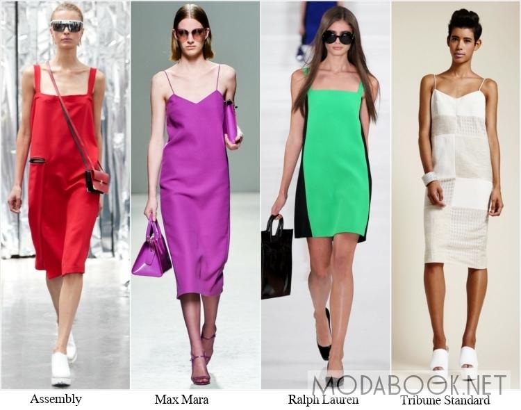 Офисные тренды в моде на сарафаны 2018