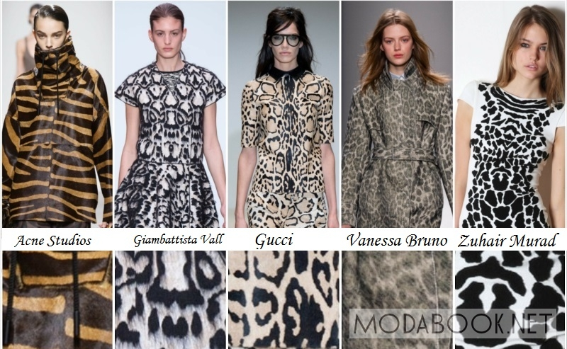Животный принт в женской одежде 2014 2015