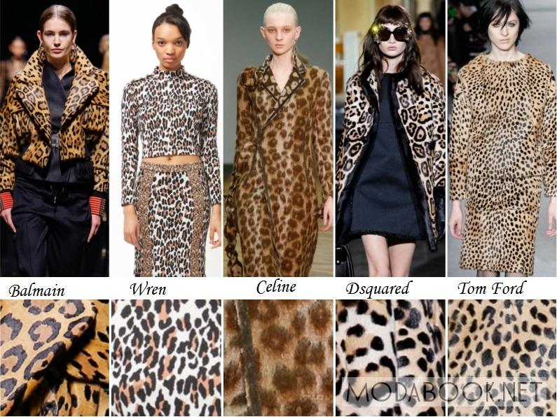 Леопардовые принты на осень 2014 года