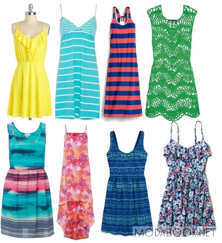 Фото летних платьев