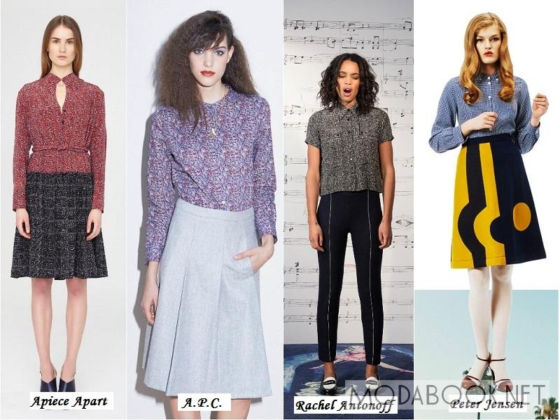 Мода 2015 Зима Осень Блузки С Доставкой