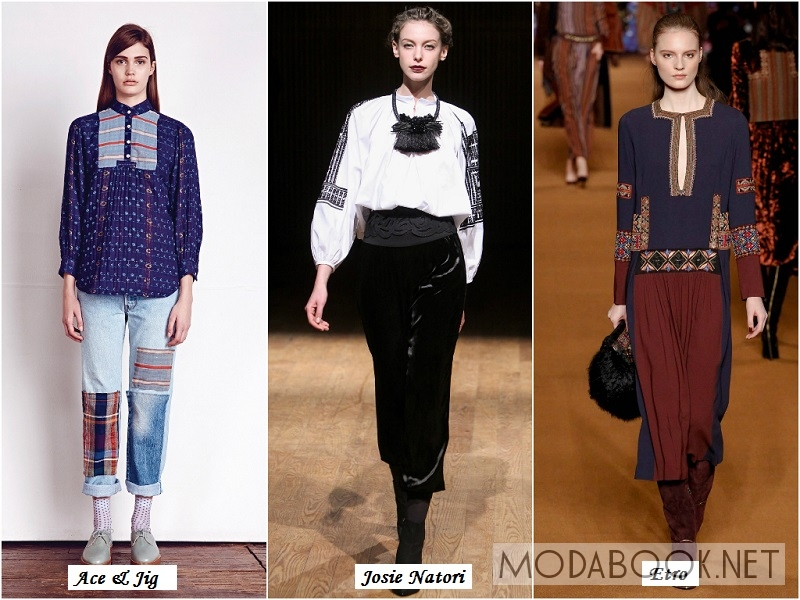 Мода Осень 2014 Блузки