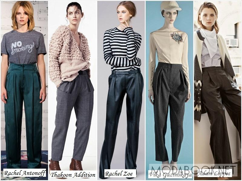 Модные женские брюки осени 2018 года