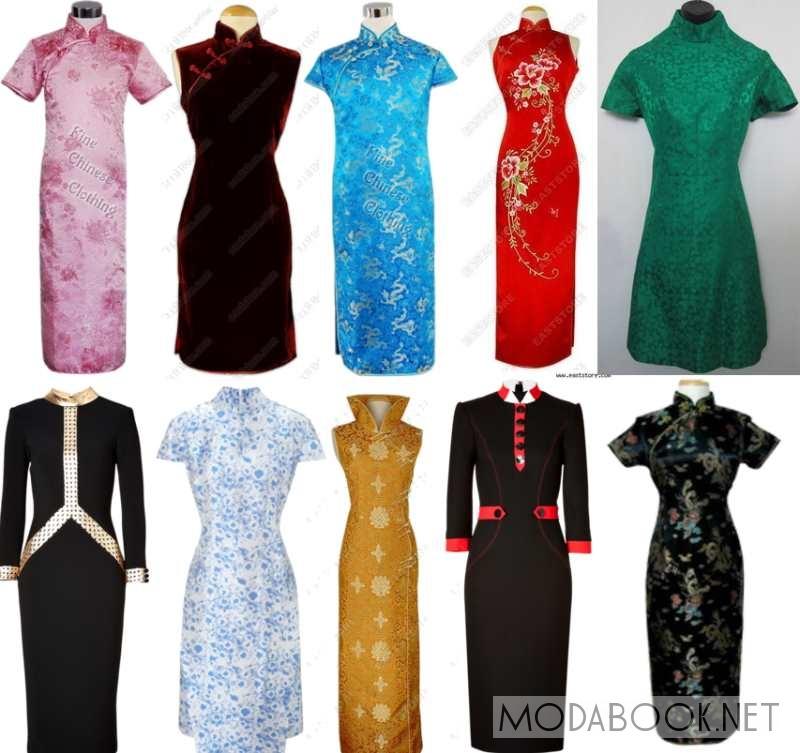 Фото платья в восточном стиле