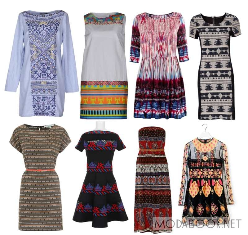 Женские платья в этническом стиле