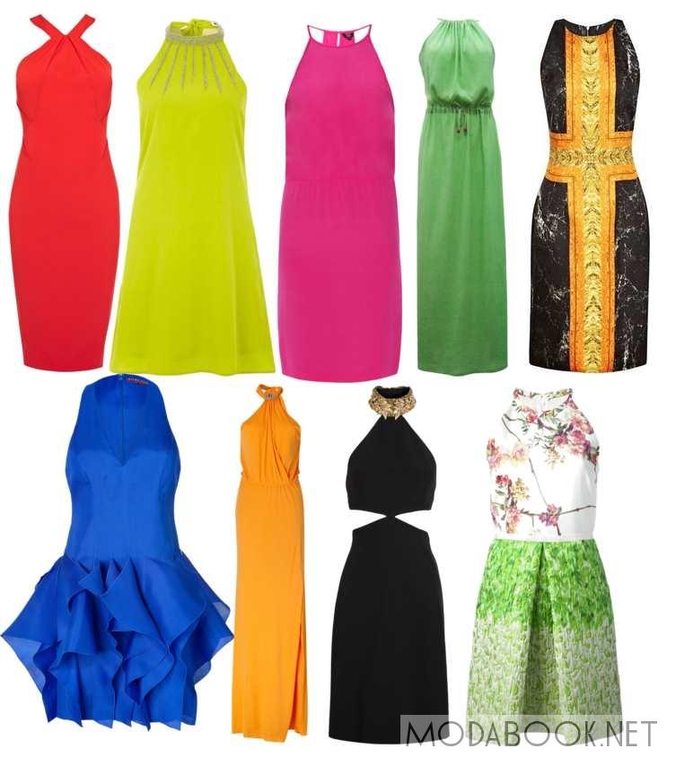Фото платьев с американской проймой