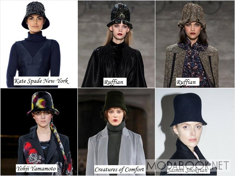 Модные шляпы клош - осень зитма 2014 2015