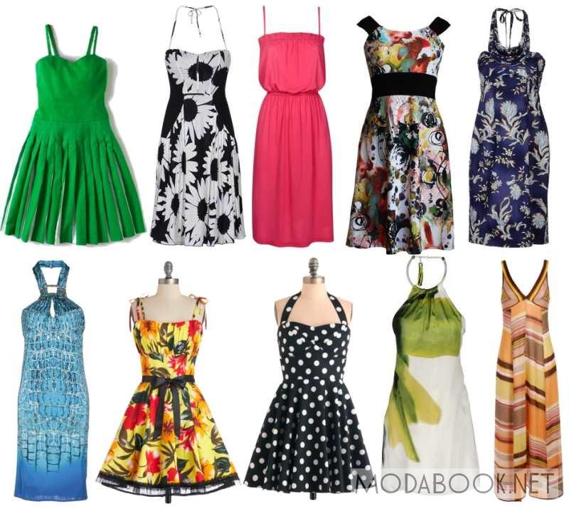 сегодняшний стили платьев и их названия фото любой