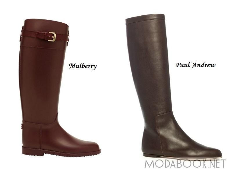 Модные сапоги осень-зима 2 15-2 16 - Моя Мода