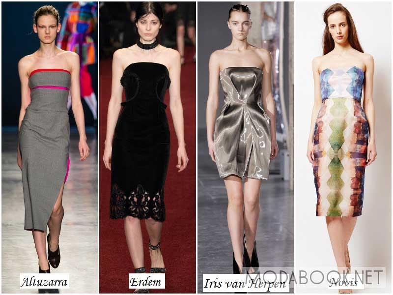 Модные платья: осень зима 2014 2015