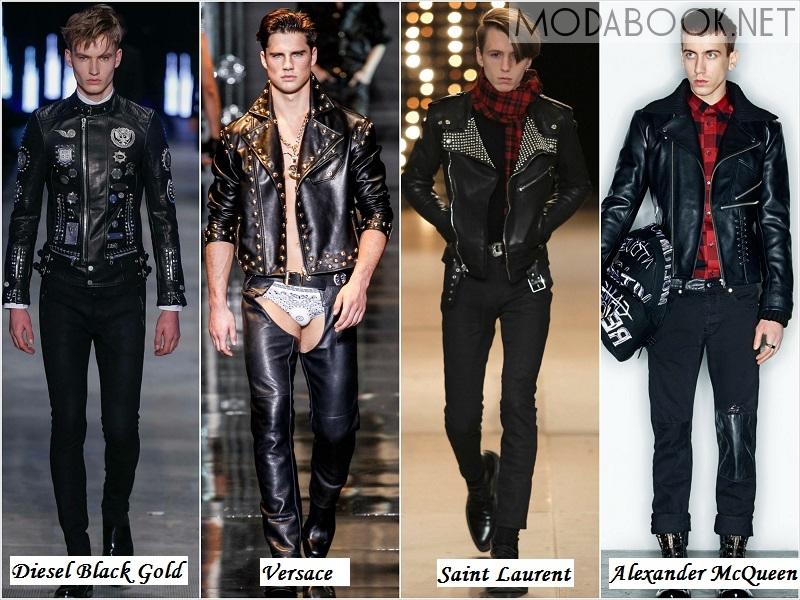 Мужские куртки в стиле Гранж - осень зима 2014 2015