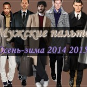 Мужские пальто 2017-2018 осень зима