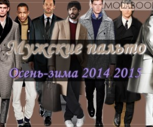Мужские пальто 2018-2019 осень зима