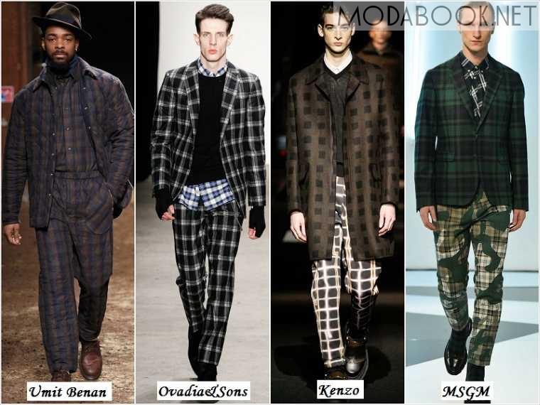 Мужская мода осеннего сезона 2014 года