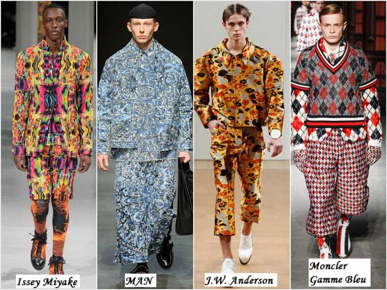 Эксцентричный стиль в мужской одежде