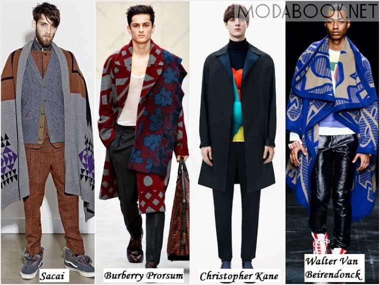 Осенне-зимняя мужская мода 2017-2018 года