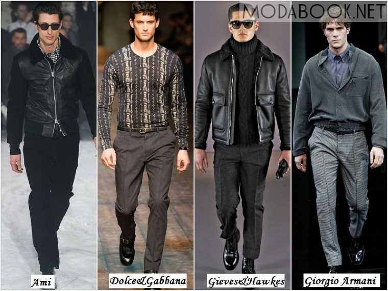 Осенняя мода для мужчин на 2014 год