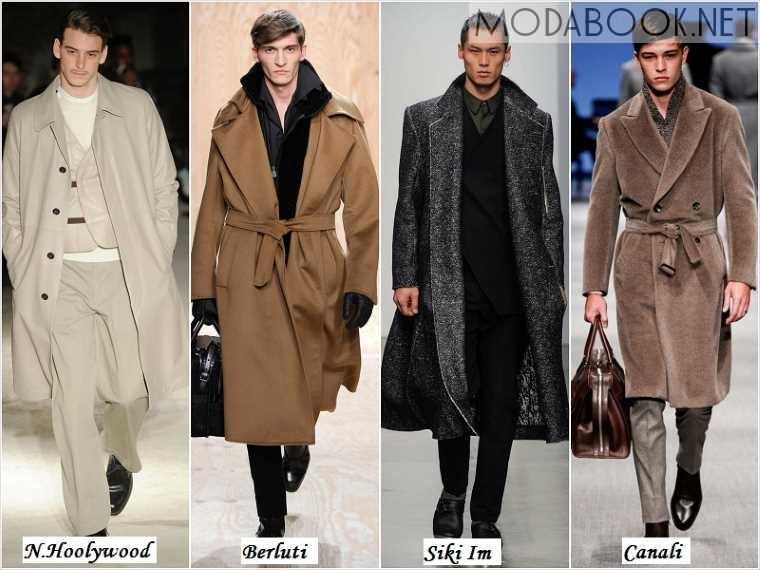 Романитческий стиль в мужской моде осени 2014