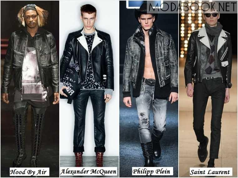 Стиль Гранж в мужской осенней моде 2014 года