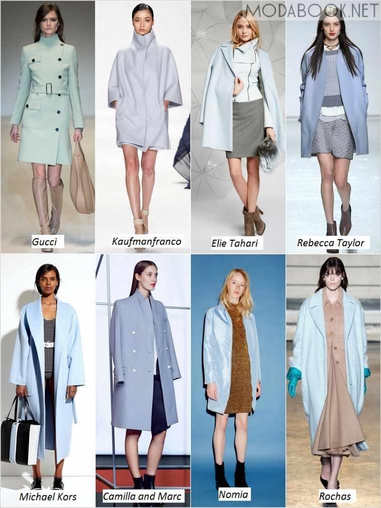 Фото модной одежды на осень зиму 2018-2019 года