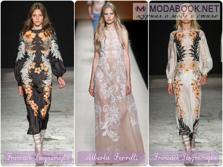 Платья на новый год 2015 из шелковых и атласных материалов
