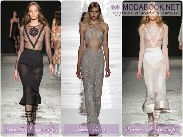 Откровенные новогодние платья 2015