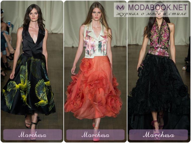 Модели платьев с пышной юбкой