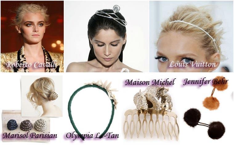 Украшения для волос на Новый год 2015