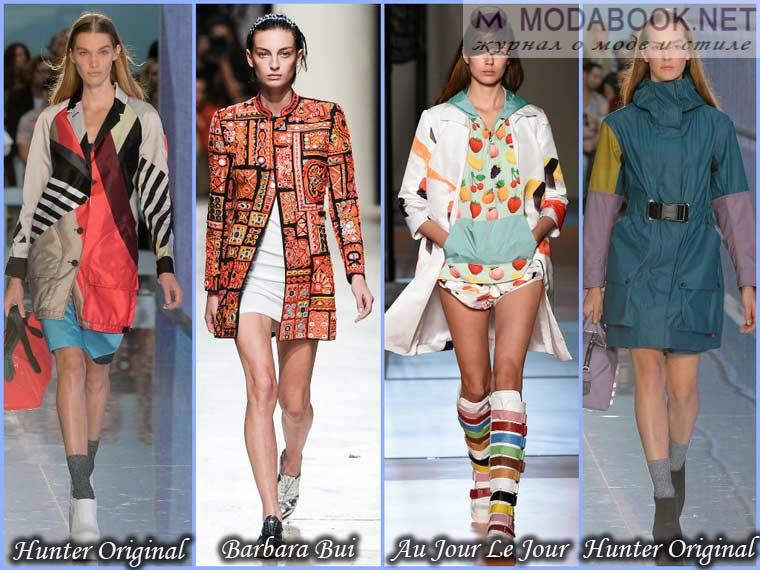 Контрастные куртки весны 2015