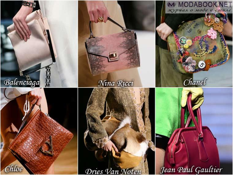 Стильные сумочки для весны