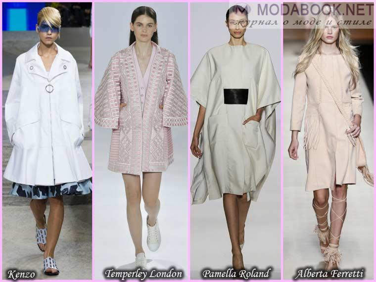 Облегченное пальто сезона весна 2015