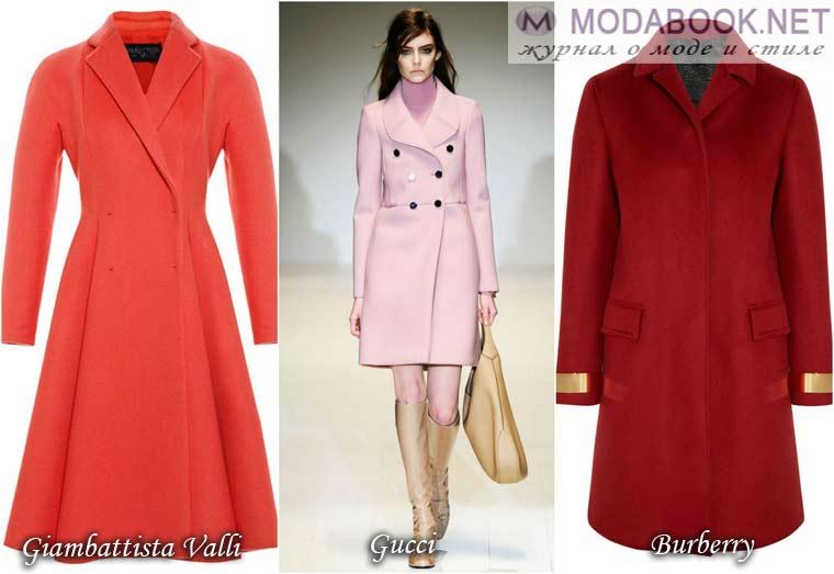 Платье-пальто — ретро — фасон
