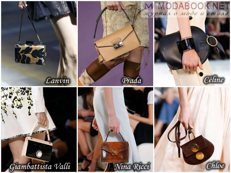 Миниатюрная сумочка на весну 2015