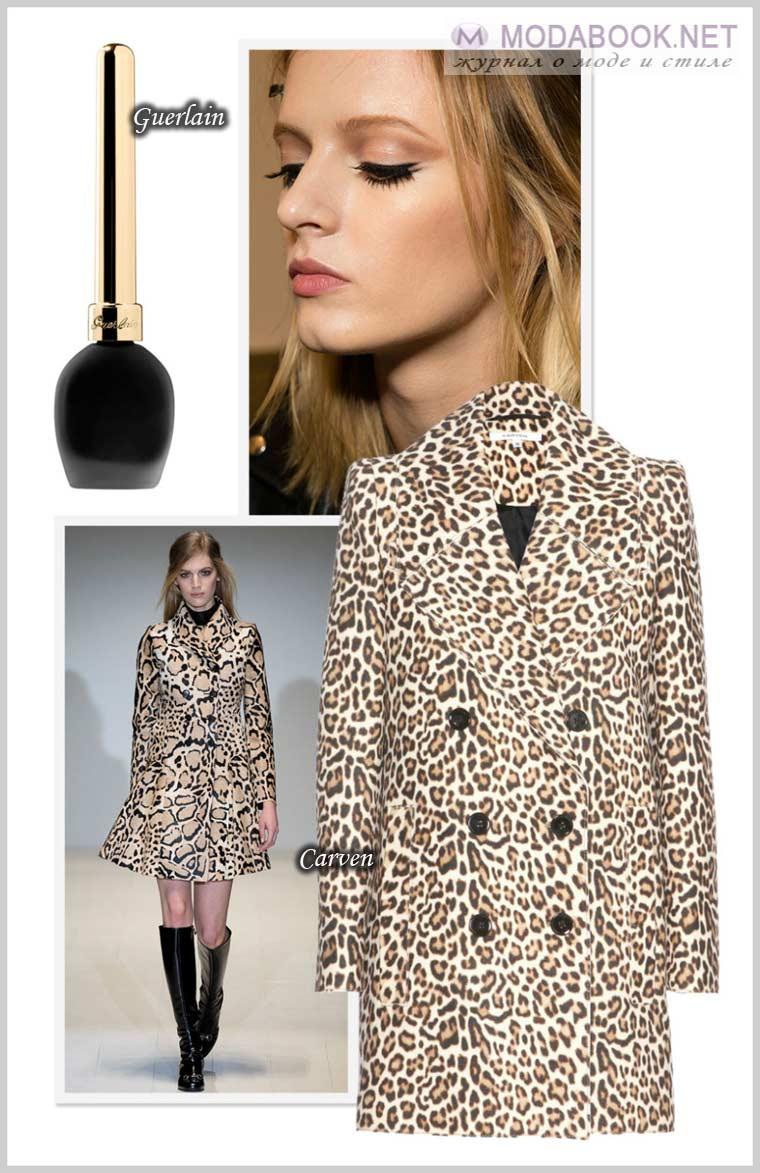 Модные цвета весны 2015 года с леопардовым принтом