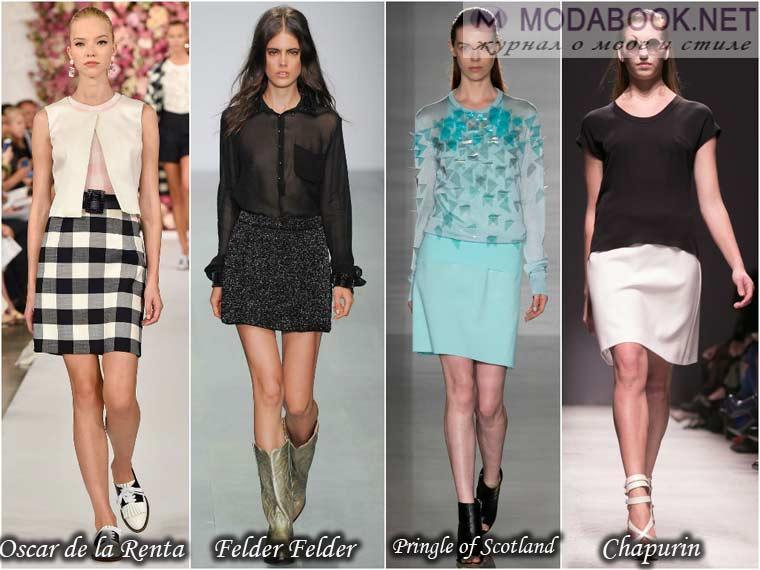 Стильные юбки сезона – весна 2015 года
