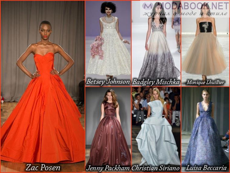 Модные платья весна-лето 2015 г