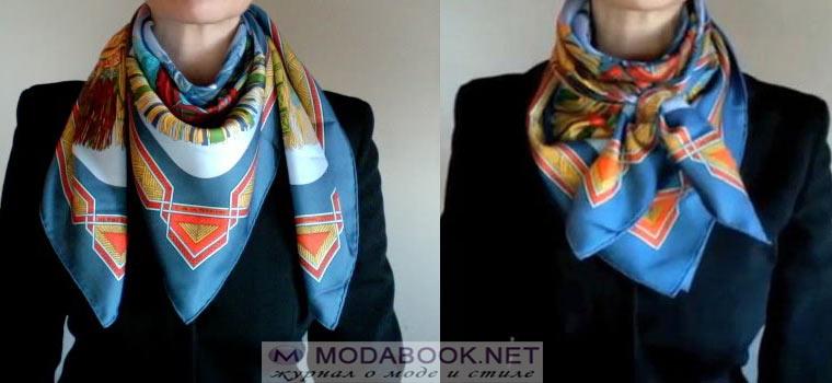 Ковбойский платок на шее