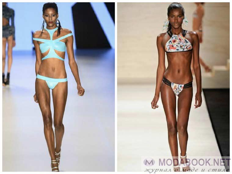 Бразильский вариант купальников бикини 2015