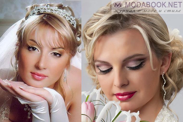 Красивый свадебный макияж 2015