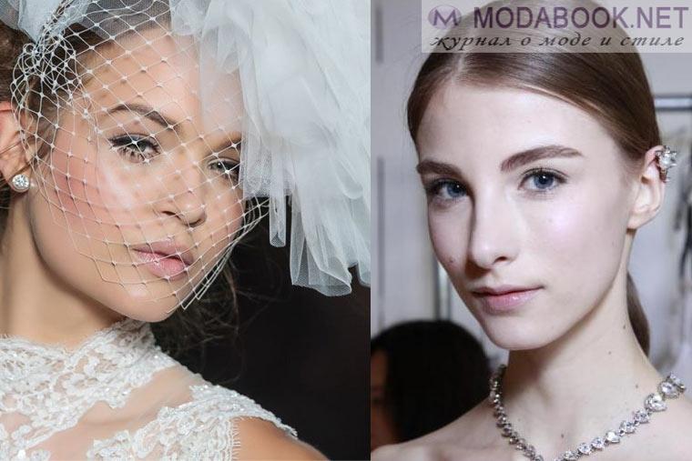 Варианты свадебного макияжа своими руками
