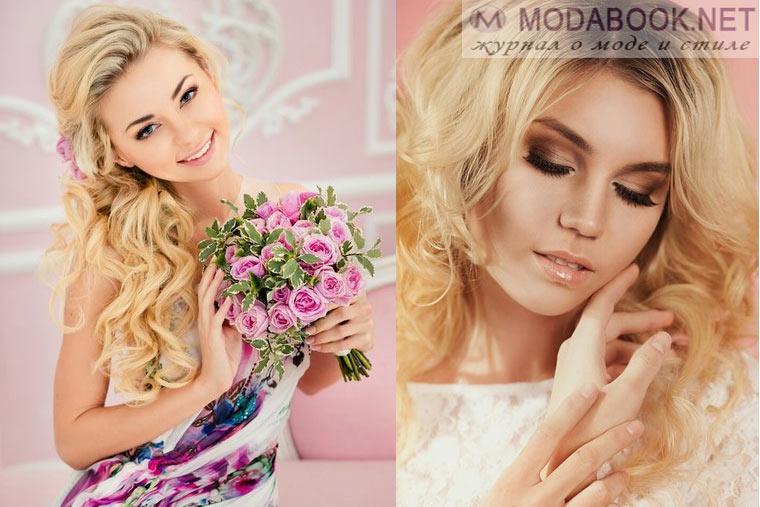 Модные вариации свадебного макияжа